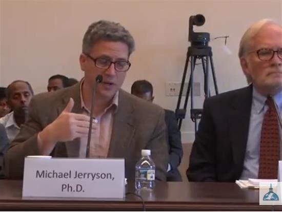 Michael Jerryson Testifying